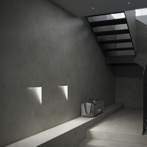 luminaria empotrable de techo / empotrable de pared / LED / cuadrada
