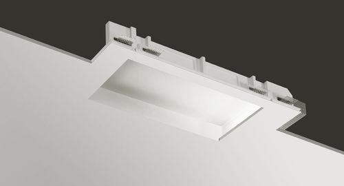 luminaria empotrable de techo / LED / fluorescente compacta / rectangular