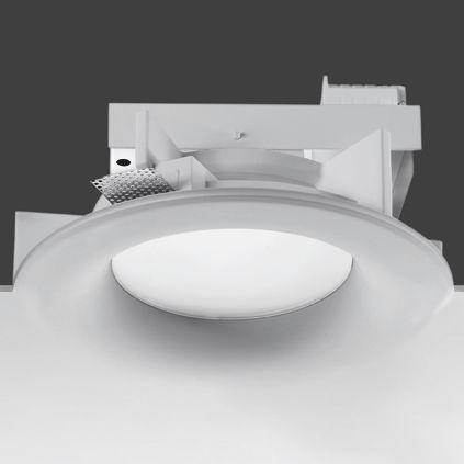 downlight empotrable / halógeno / fluorescente compacta / HID