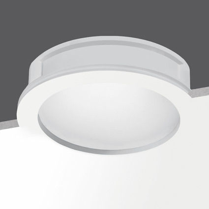 downlight empotrable / LED / fluorescente compacta / redondo