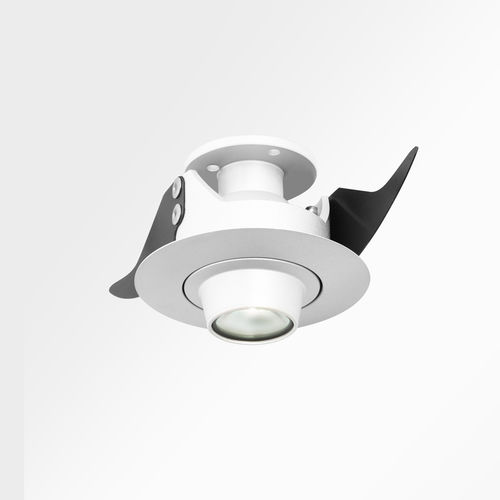 downlight empotrable / LED / redondo / de vidrio