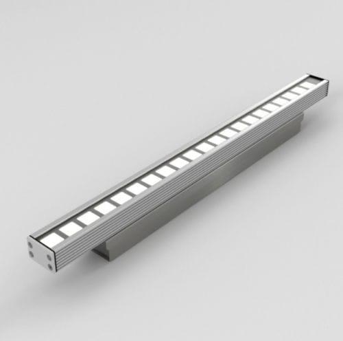 luminaria montada en superficie / LED RGB / LED RGBW / lineal