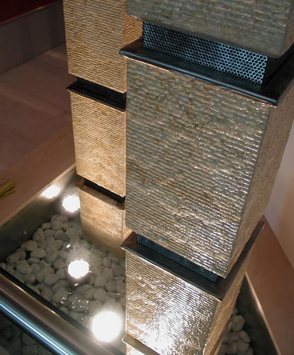foco empotrable de suelo - Crystal Fountains