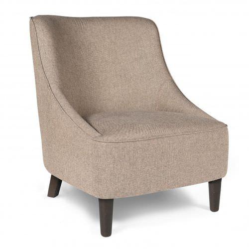 sillón moderno / de tejido