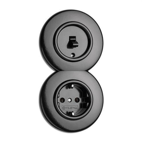 toma de corriente / multi / empotrable / Bakelite®