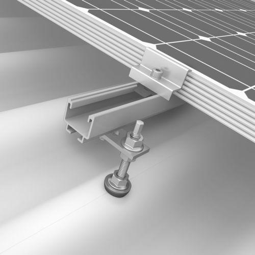 Estructura de soporte para cubierta de tejas / para tejado inclinado / para cubierta de chapa ondulada / para techo K2 SOLIDRAIL K2 Systems GmbH