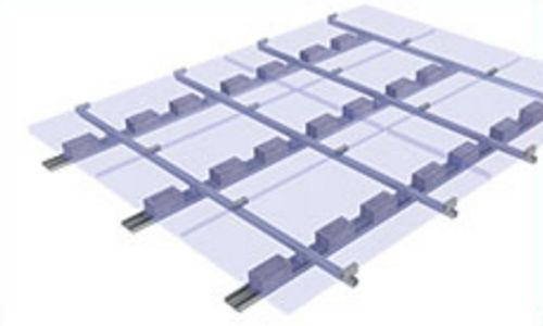 Estructura de soporte para cubierta plana / para techo / para aplicaciones fotovoltaicas FLATGRID Schletter