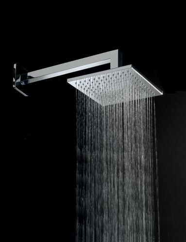 rociador de ducha de pared / cuadrado