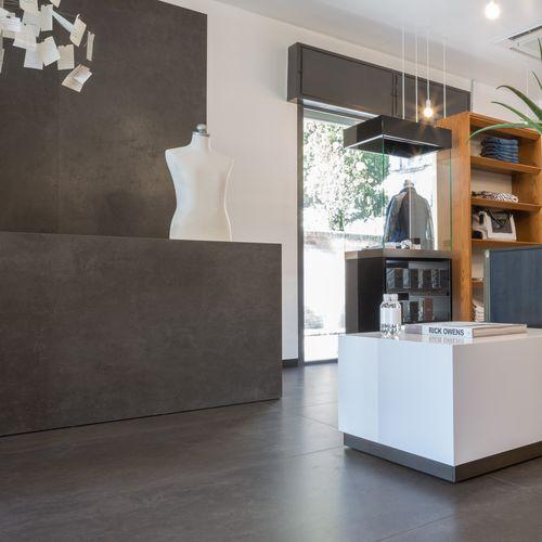 panel decorativo doméstico / de cerámica / para interiores / pulido