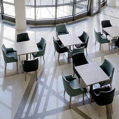 tablero de mesa de cerámica / a prueba de calor / antimanchas / antiabrasiones