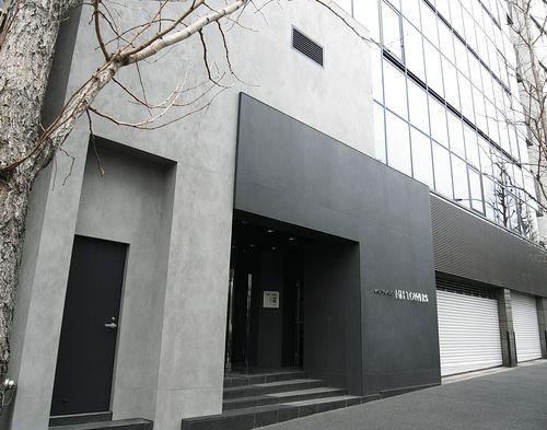 Revestimiento de fachada de cerámica / mate / aspecto metal OXIDE: GRIGIO LAMINAM