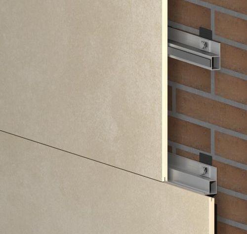 Sistema de fijación metal / para revestimiento de fachada / para interior GR-INT SISTEMA MASA SL
