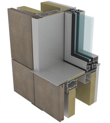 Sistema de fijación metal / para muro-cortina / para revestimiento / para fachada ventilada SIM SISTEMA MASA SL
