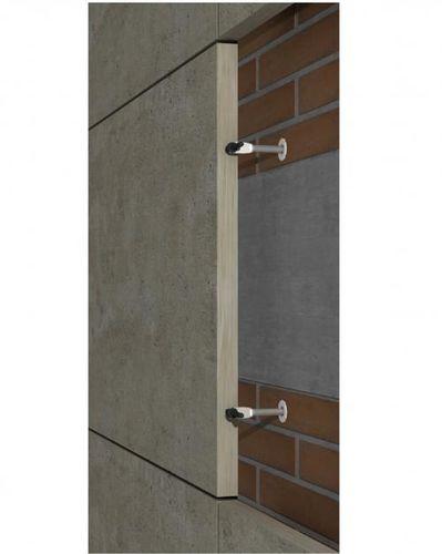 Sistema de fijación de acero inoxidable / para revestimiento de fachada / para fachada ventilada / para exteriores GR-ESP SISTEMA MASA SL