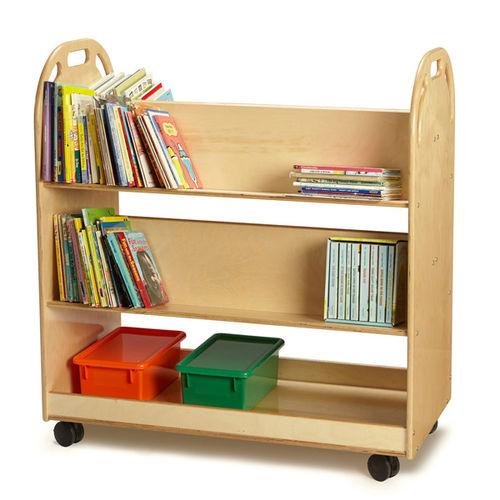 Estantería con ruedas / moderna / de madera / para guardería TRUCK Jonti-Craft, Inc.