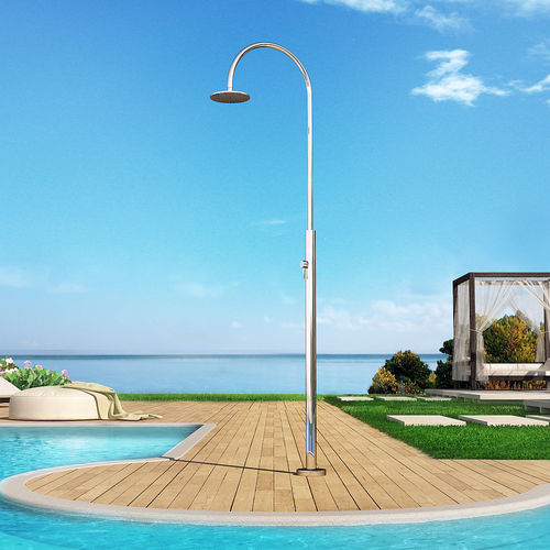 ducha de exterior para piscina - Inoxstyle