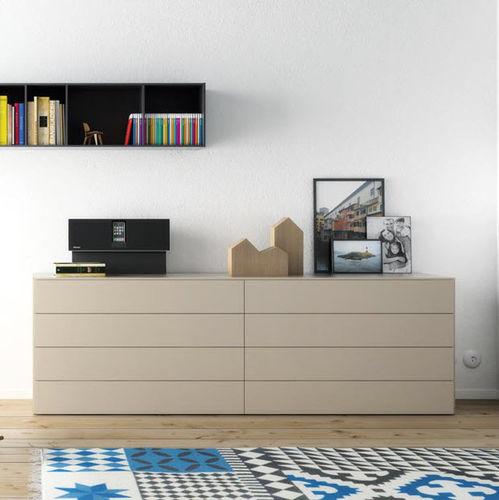 Cómoda moderna / de madera / de MDF / modular S1  VIVE - MUEBLES VERGE S.L.
