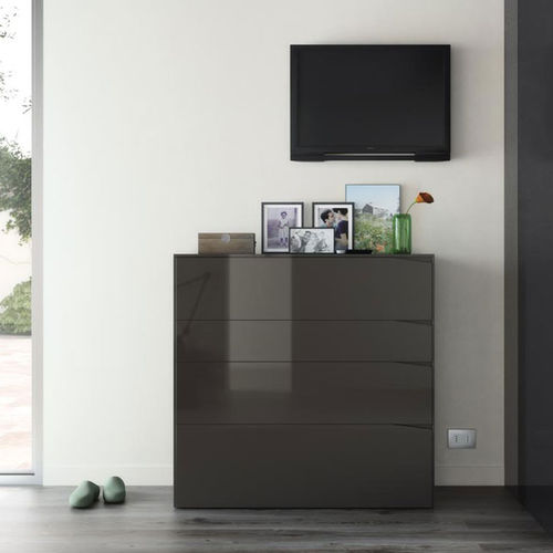 Cómoda moderna / de madera / de MDF / modular S2  VIVE - MUEBLES VERGE S.L.