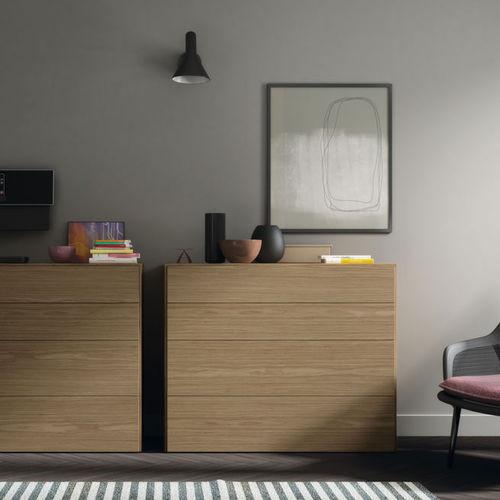 Cómoda moderna / de madera / de MDF / modular S4  VIVE - MUEBLES VERGE S.L.