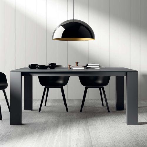 Mesa de comedor / moderna / de madera / de cerámica T01 VIVE - MUEBLES VERGE S.L.