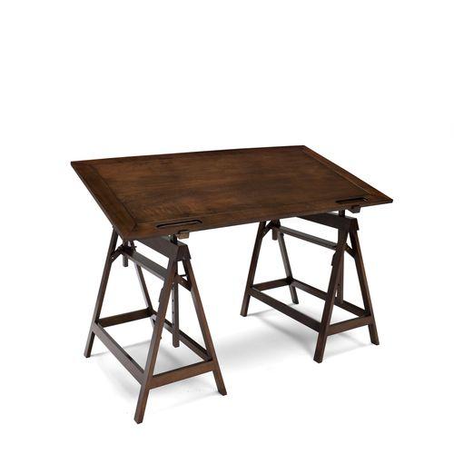 mesa de trabajo moderna / de haya / de nogal / rectangular