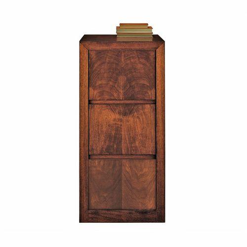 armario de oficina alto / de nogal / clásico