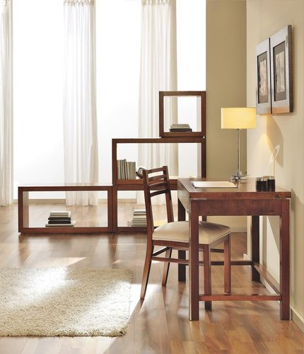 escritorio de nogal / de haya / moderno