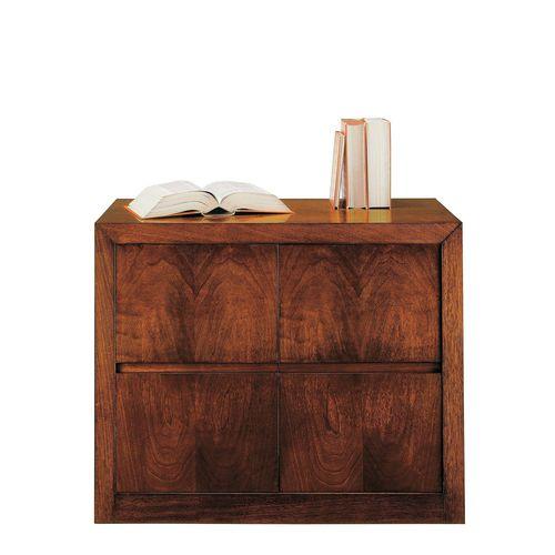 armario de oficina bajo / de nogal / de haya / de estilo victoriano