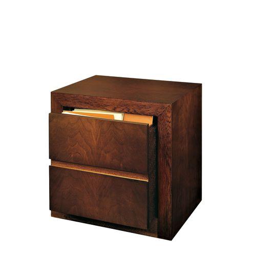 armario de oficina bajo / de nogal / de haya / moderno