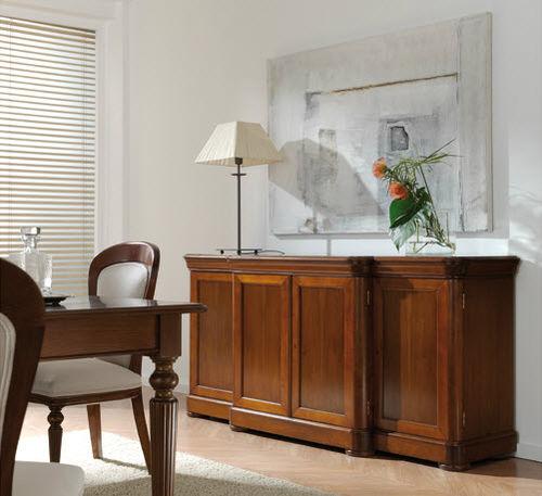 aparador de estilo victoriano / de nogal / de haya