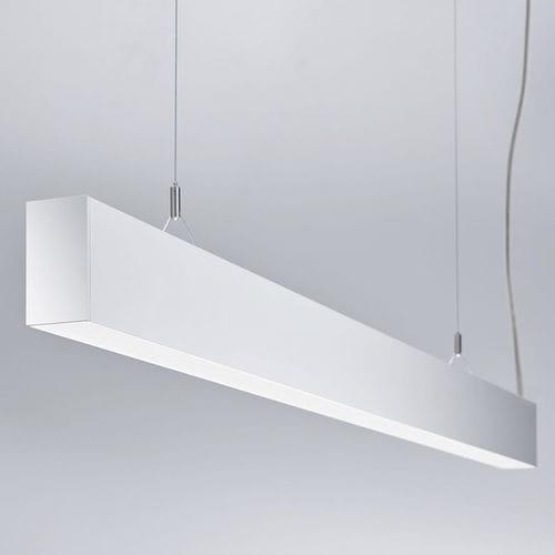 luminaria suspendida / LED / lineal / de metal