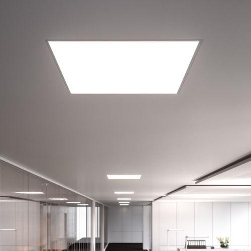 luminaria empotrable de techo / LED / cuadrada / de metal