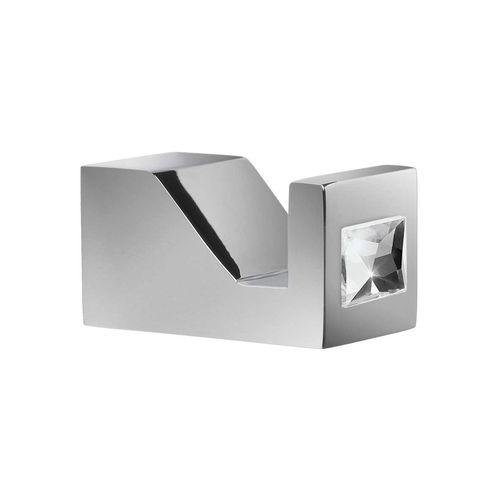 percha moderna / de metal cromado / para hotel / profesional