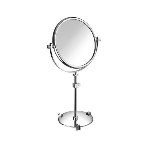 espejo para baño de pie / basculante / moderno / redondo