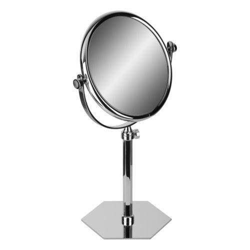 espejo para baño de pie / de aumento / de doble cara / circular