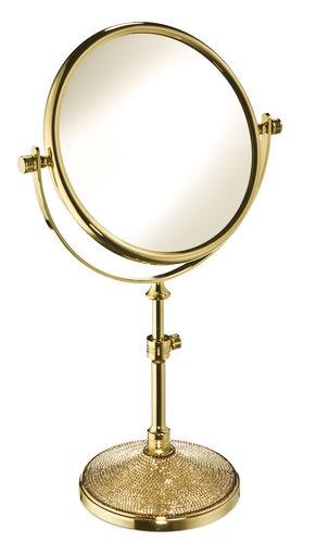 espejo para baño de sobremesa / de aumento / de doble cara / de estilo