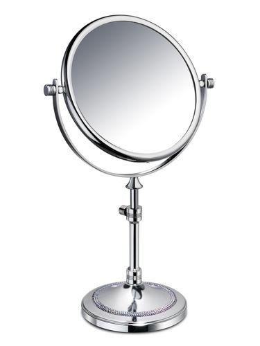 espejo para baño de sobremesa / de doble cara / de aumento / de estilo