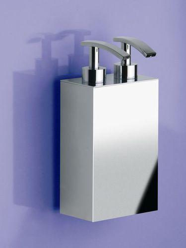 dispensador de jabón para el sector servicios / de pared / de latón / manual