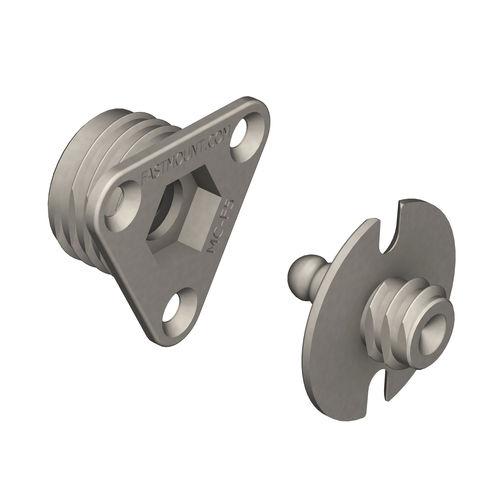 sistema de fijación de metal / para paneles