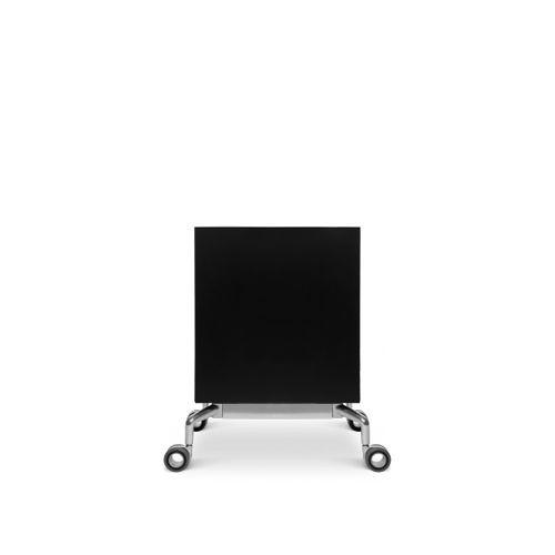 cajonera de oficina de acero / de aluminio / con puerta abatible / con ruedas