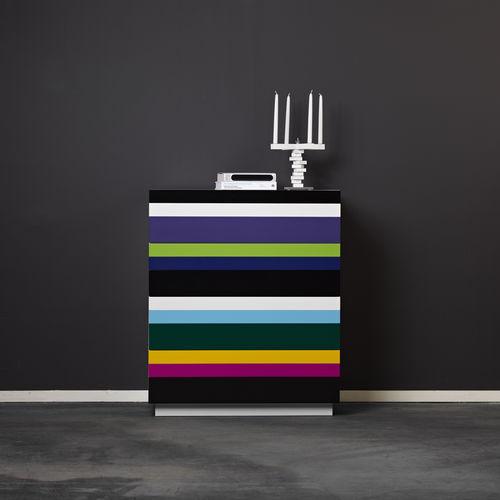 cómoda moderna / de madera pintada / de MDF lacado