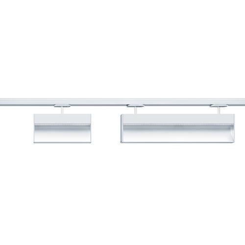 iluminación sobre riel LED / lineal / de aluminio fundido / para el sector servicios
