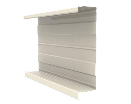 revestimiento de fachada en chapas / acanalado / de panel