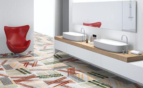 baldosa de interior / de baño / de suelo / de mármol