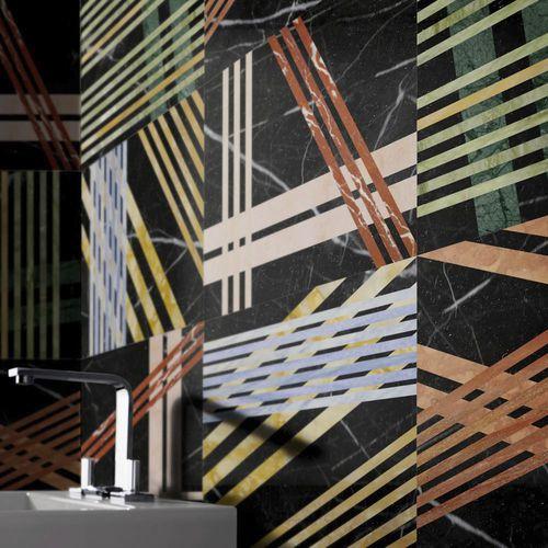 Baldosa para baño / de suelo / de mármol / multicolor MIKADO by Raffaello Galiotto Lithos Design