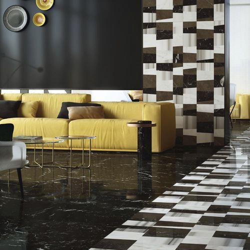 Baldosa de suelo / de pared / de mármol / con motivos geométricos PIANO by Raffaello Galiotto Lithos Design