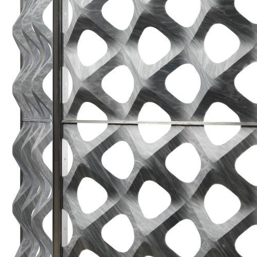 Panel decorativo / para revestimiento interior / para tabique / de metal RETINA by Raffaello Galiotto Lithos Design