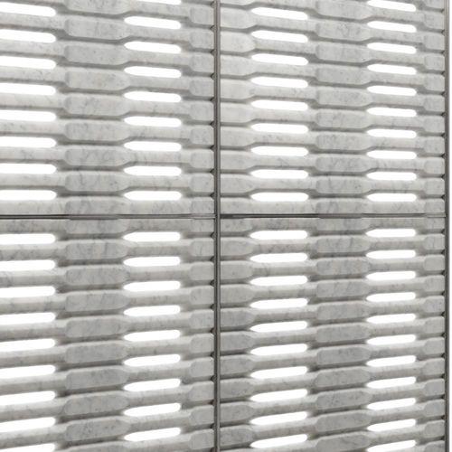 Panel decorativo / de metal / de mármol / para revestimiento interior IRIDE by Raffaello Galiotto Lithos Design