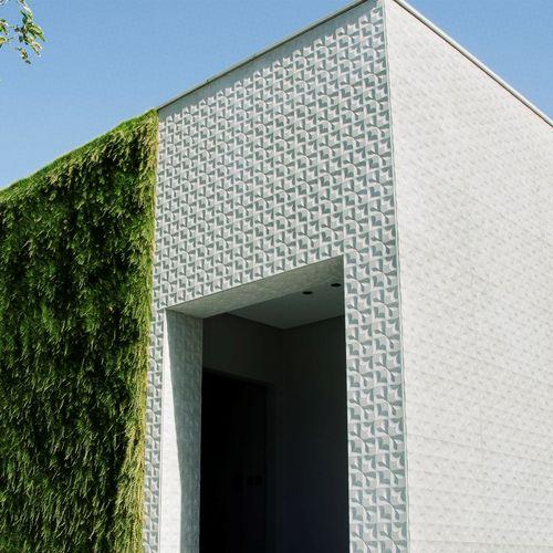 Panel decorativo / para revestimiento interior / para exteriores / de pared VIRGOLA by Raffaello Galiotto Lithos Design