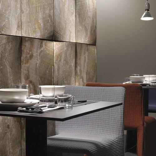 Panel decorativo de pared / para decoración interior / de piedra natural / de mármol FOULARD by Raffaello Galiotto Lithos Design